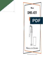 Manual Do Usuário Mixer Dellar DMX-433 Gourmet