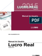 Manual Lucro Real 2015