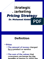 8 ) Pricing Strategy2