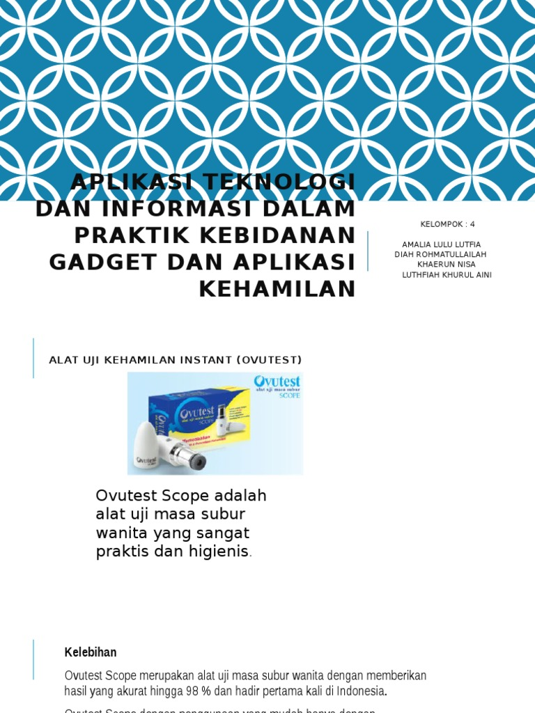 Ovutest Scope Alat Uji Masa Subur Wanita Daftar Harga Terkini Aplikasi Teknologi Dan Informasi Dalam Praktik Kebidananpptx Source Promo Terbaru