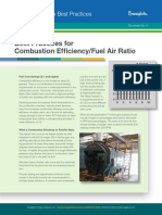 Best Practices for Combustion Efficiency-fuel Air Ratio