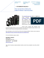 AMC AxCent Servo Drives New Product Press Release