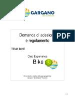 2014 Adesione Regolamento Club BIKE - Tema BIKE