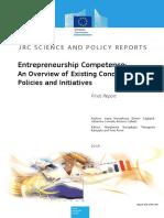 Jrc96531 Final Entrepreneurship Competence