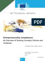 Jrc96180 Entrepreneurship Competence