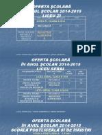 0 Oferta Scolara 20142015