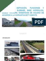 Pavimentos Tema 1 Introduccion a Los Pavimentos y Normativa SB BH BT