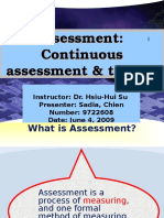 Assessment ESP