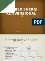 P2. Sumber Energi Konvensional