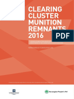 Clearing Cluster Munition Remnants 2016
