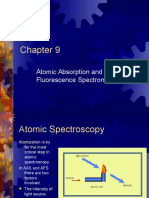 Atomic Absorption and Atomic Fluorescence Spectrometry 12