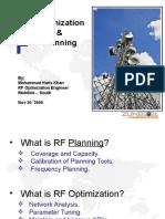 RF Optimization and Planning