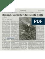 Wiener Zeitung Byzanz Vorreiter Des Mult