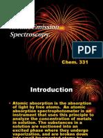 Atomic Emission Spectroscopy asda