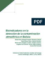 bioindicadores en la contaminaion atmosferica en Bolivia.pdf