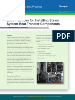 Best Practices for Installing Steam System Heat Transfer Components