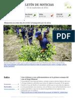 Boletín de noticias KLR 05SEP2016