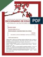 Hist. de Las Disciplinas Escolares - Giner