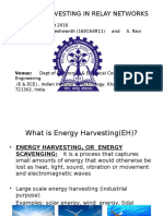 RF Energy Harvesting in Relay Networks