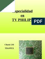 L03 y L01 de Televisores Philips Training Manual Spanish