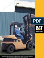 Montacargas CAT DP35NT