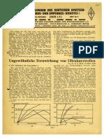 CQ DASD 1939 Heft 010 Und Heft 011