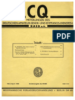 CQ DASD 1940 Heft 003 Und Heft 004