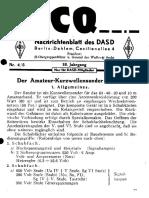 CQ DASD 1944 Heft 004 Und Heft 005