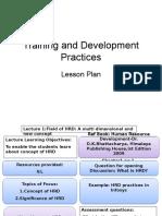T&D plan