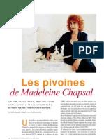 Madeleine Chapsal par Alain Quella-Villéger