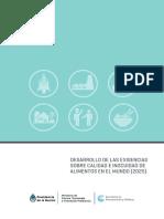 Desarrollo de Las Exigencias Sobre Calidad e Inocuidad de Alimentos en El Mundo 2025