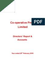 Co-operative Press Annual Report 2010