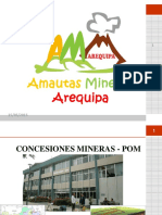 Concesiones Mineras - Amautas Mineros Arequipa y Grem