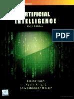 Artificial Intelligence [Rich & Knight]