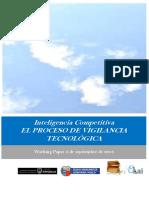Inteligencia Competitiva. EL PROCESO DE VIGILANCIA TECNOLOGICA