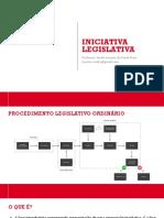 2 - Iniciativa Legislativa
