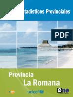 Perfil Estadístico Provincial La Romana