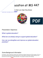global education at ms 447