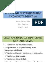 Trastornos de Personalidad y Responsabilidad Penal