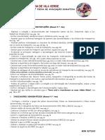 Objetivos Teste Transportes_telecomunicações_indicadores Desenv