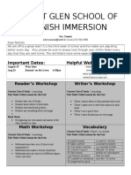 kindergarten newsletter 16-8-15