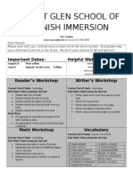 kindergarten newsletter 16-8-22