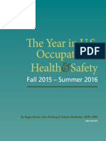 Year in US Occupational Health & Safety 2016