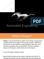 Torque and Power