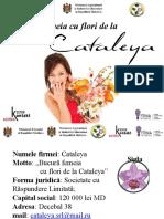 Cataleya Prezentarea