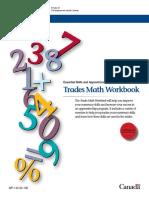 Trades Math Workbook