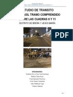 Trafico i - Trabajo Final (Av. Brasil)