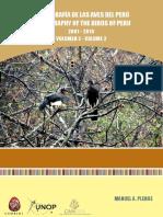 Bibliografia de Las Aves Del Peru Parte II
