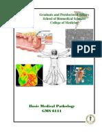 GMS 6111 Basic Medical Pathology Synopsis 2016 Fall
