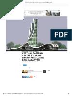 Vertical Farming Centre by Aram Shahoyan & Lusine Baghdasaryan